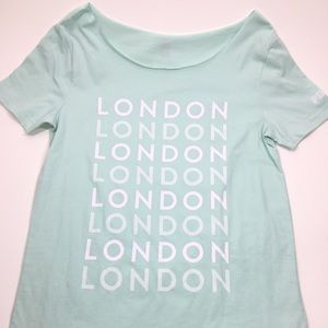 "NWT Victoria Secret PINK ""London"" Tee"